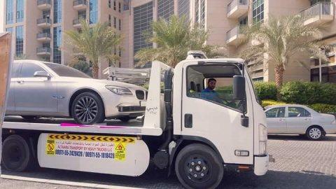 شحن سيارات من الامارات الى البحرين