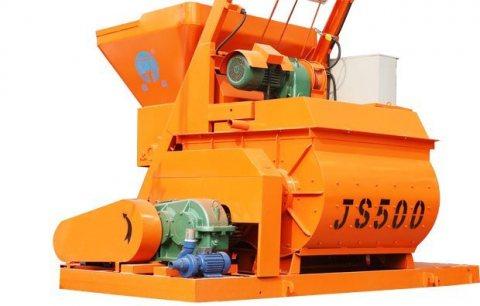 خلاط الخرسانة JS500,ملموسة خلاط 25 م3/ساعة