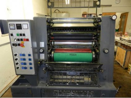 صور 4 colours offset printing press GTOV 52 1
