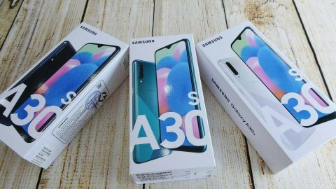 Samsung Galaxy A30s (Unlocked) 128GB Dual SIM 4GB RAM 25MP Triple Camera
