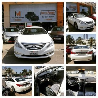 Hyundai Sonata 2015 Bahrain Agency, Original Paint with excellent condition.