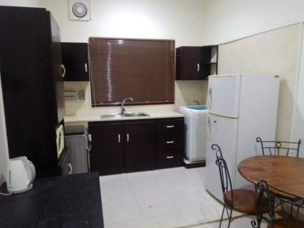 A fully furnished studio for rent in New Busaiteen near Tylos School.