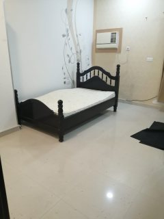 Half furnished studio with electricity for rent in Karbabad area