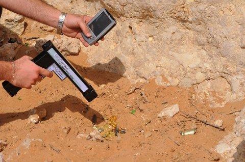 اجهزة كشف الذهب الحديثة2014 تقدمها لكم شركة FTGالتجربة خير برهان