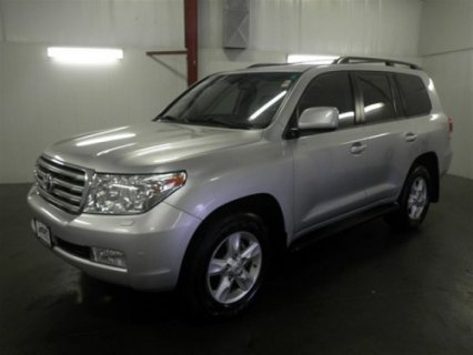 2009 Make: Toyota Model: Land Cruiser Trim: Base Sport Utility 4