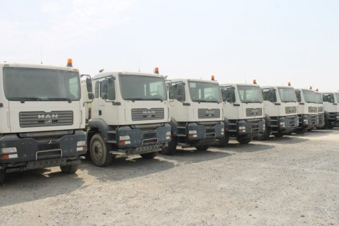 شركة مان توب يوزد للشاحنات المستعملة بالامارات