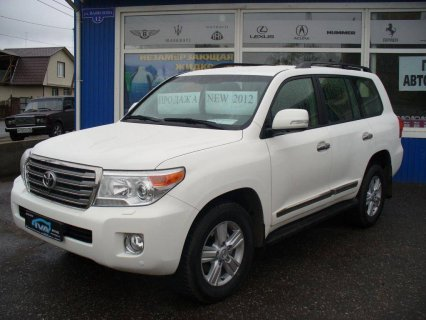 المزاد! Toyota Land Cruiser (SUV)