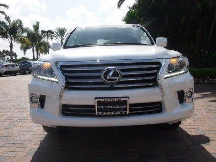 المزاد! Lexus LX 570 2013/2014