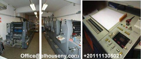 ماكينة هايدلبرج جى تو او 52 – 5 لون بسعر مغرى جدا