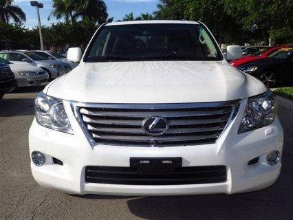 2011 LEXUS LX 570, FULL OPTION