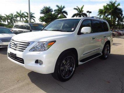USED LEXUS LX 570 2011, FOR SALE