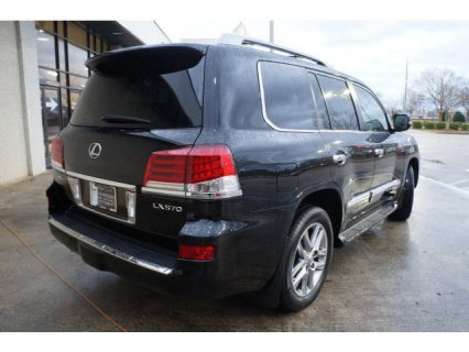 صور  BLACK 2013 LEXUS LX 570 FOR SALE 2