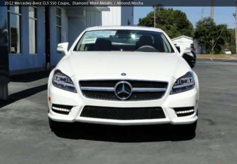 Used 2012 Mercedes-Benz CLS 550 Coupe for sale