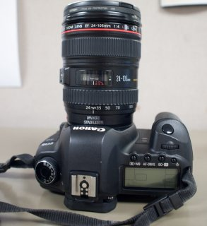 Canon 5d III - Black Kit w/ EF L USM 24-105mm Lens