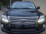 لكزس LX 570 2013 سيارة جيب سوداء