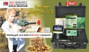 جهاز التنقيب عن الكنوز والمعادن ميغا جي 3   MEGA G3